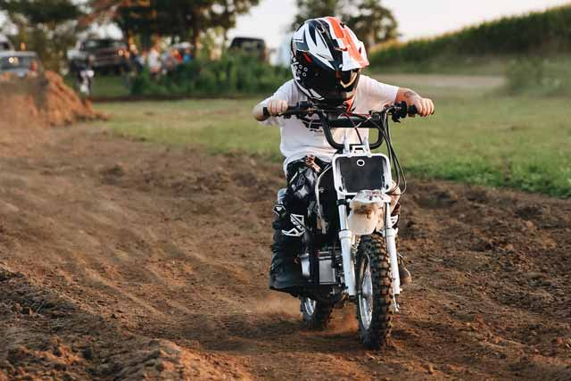 Dirt bikes for 8 year old kids